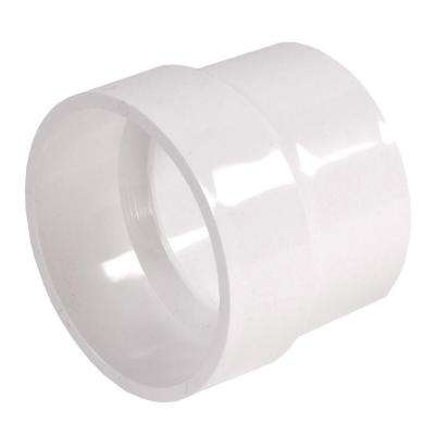 4 in. x 4 in. PVC DWV x Sewer and Drain Adapter