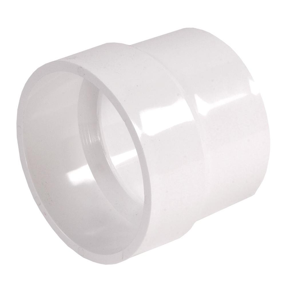 NDS 4 in. x 4 in. PVC DWV x Sewer and Drain Adapter