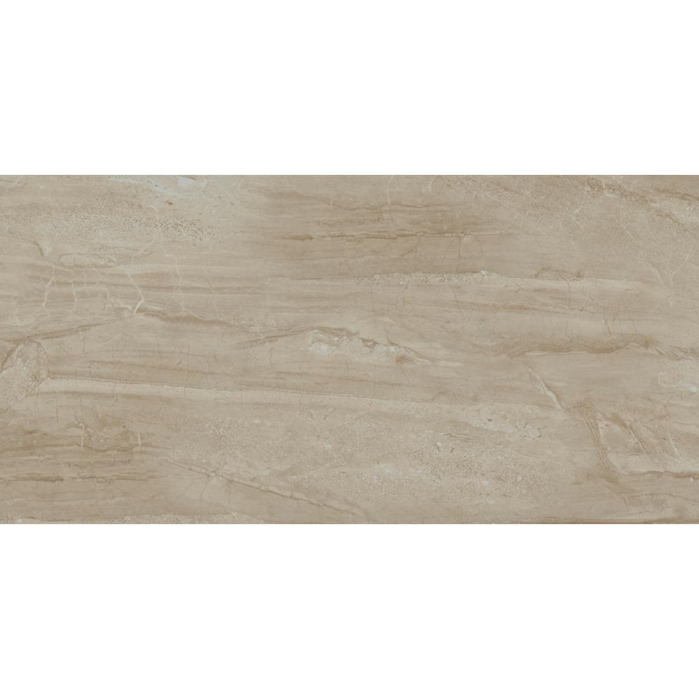 MS International Sedona 12 in. x 24 in. Glazed Ceramic Floor and ...
