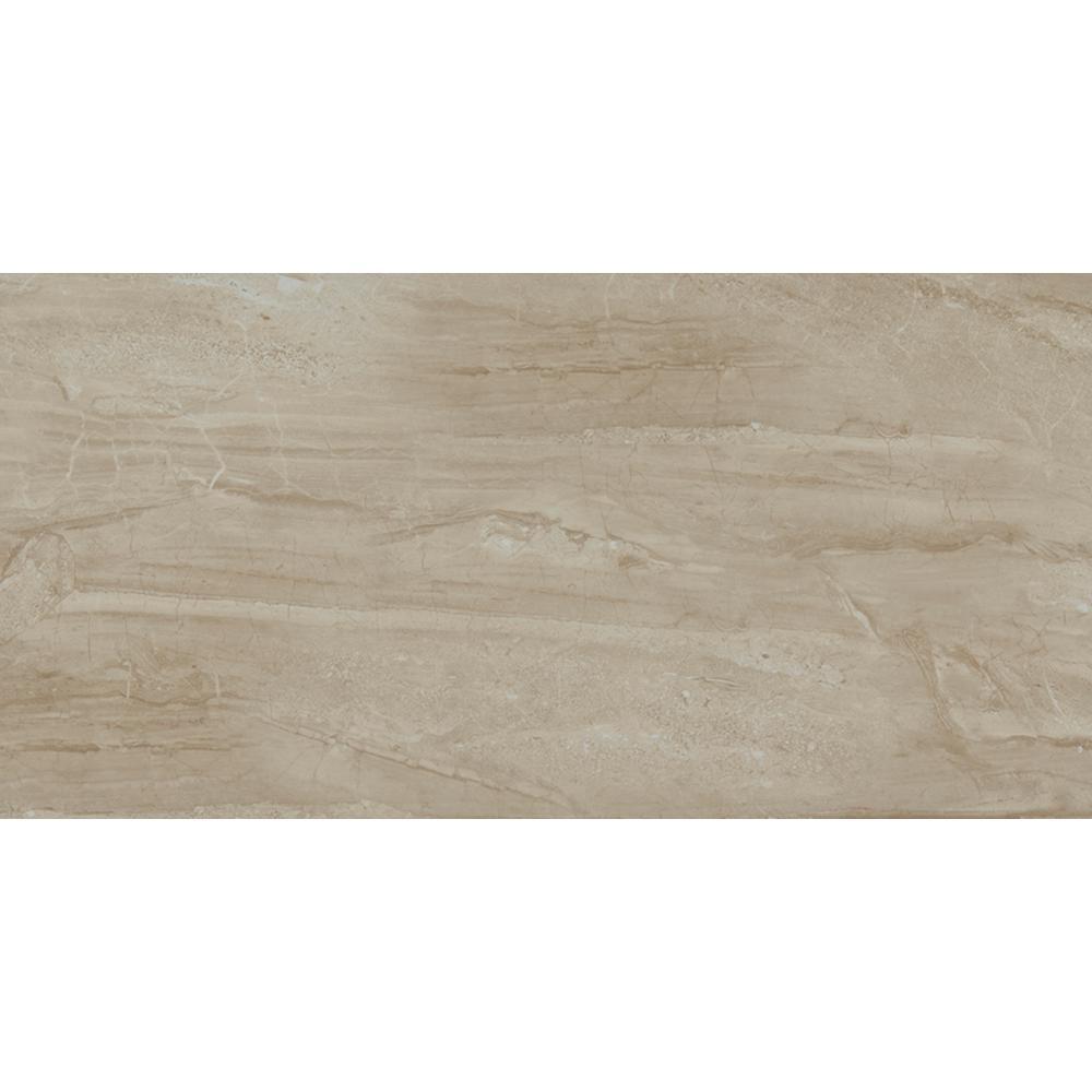 Trafficmaster Sedona 12 In X 24 In Glazed Ceramic Floor And Wall