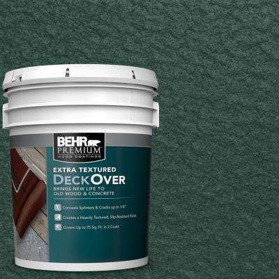 5 gal. #SC-114 Mountain Spruce Extra Textured Wood and Concrete Coating