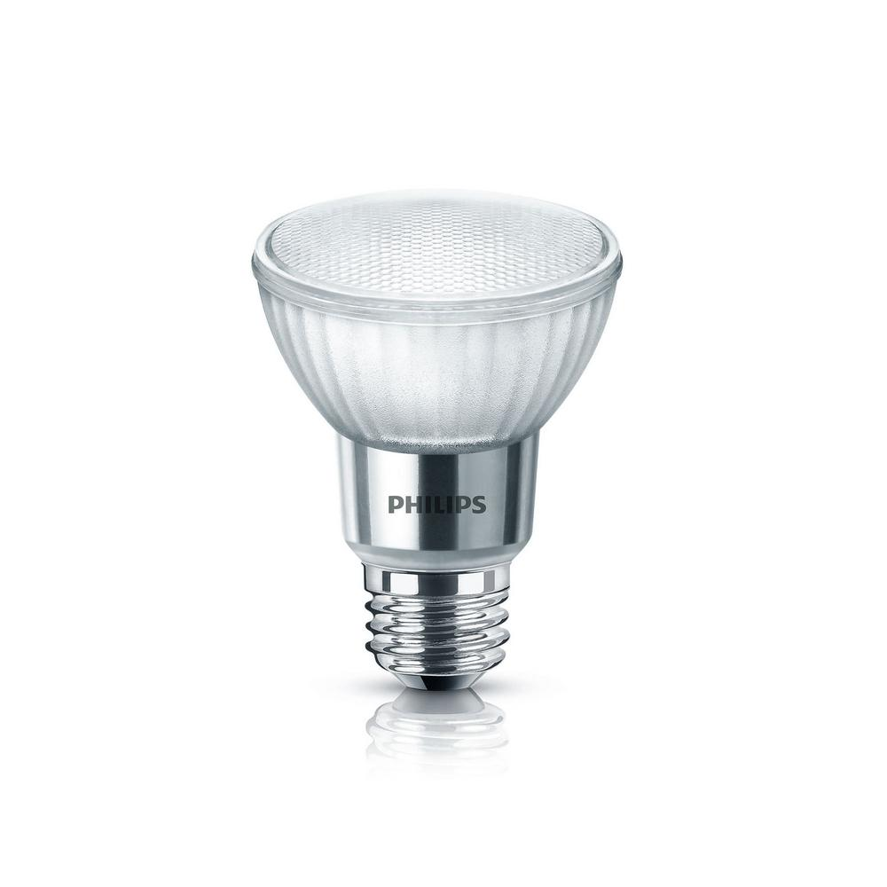 Home Depot Led Light Bulbs: Philips 50-Watt Equivalent PAR20 LED Light Bulb Bright