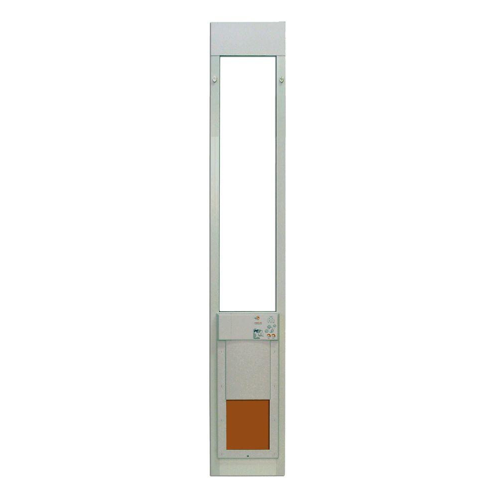 Extra Tall Electronic Fully Automatic Patio Pet Door