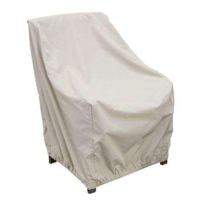High-Back Patio Chair Winter Cover