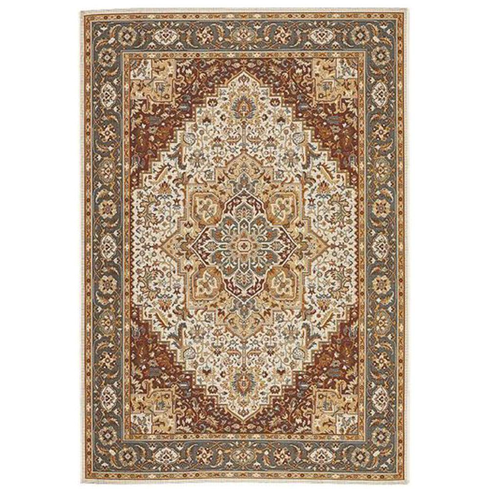 Charming Home Decorators Collection Picardy Teal 10 Ft. X 13 Ft. Area Rug 8191560310    The Home Depot