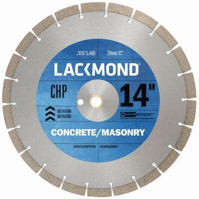 CHP Series Dry Cut Diamond Blade for Cured Concrete 14 in. x 0.125 x 20 mm