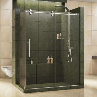 DreamLine - Chrome - Bypass/Sliding - Corner Shower Doors - Shower ...