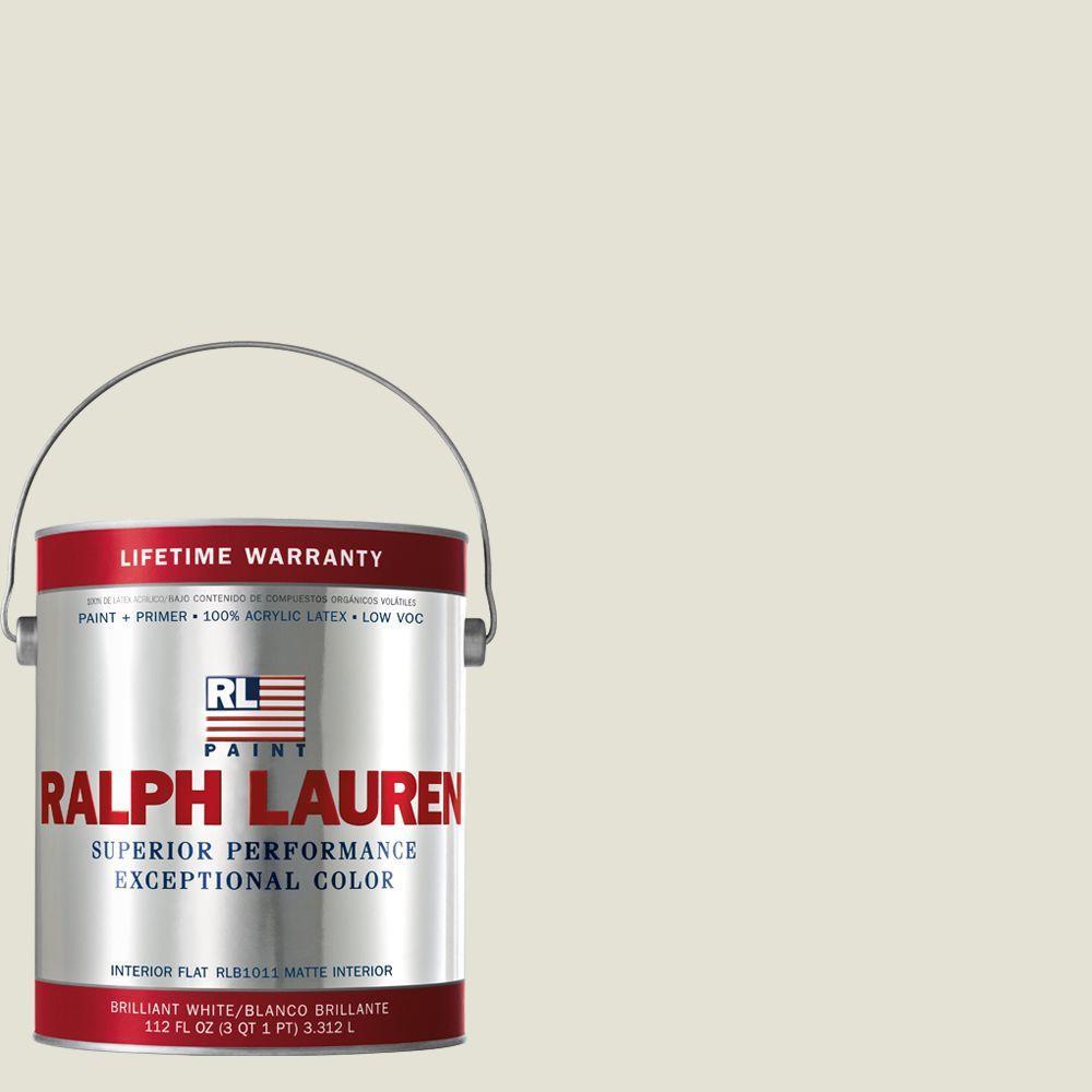 Ralph Lauren 1-gal. Egret Flat Interior Paint