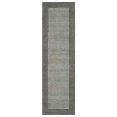 Dominion Grey 2 ft. 6 in. x 8 ft. 9 in. Runner Rug