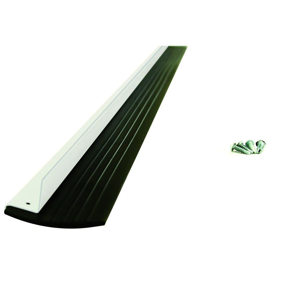 Leslie-Locke 2 in. x 36 in. Adjustable Door Bottom Sweep