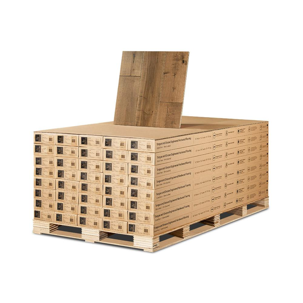 Maple Cardiff 1/2 in. Thick x 7-1/2 in. Wide x Varying