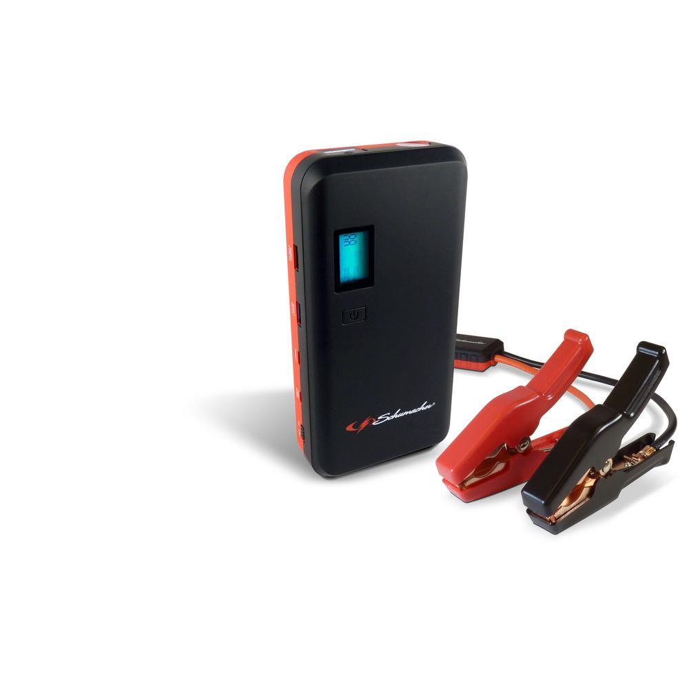 Schumacher 1000 Peak Amp Lithium-Ion Jump Starter/Power Pack