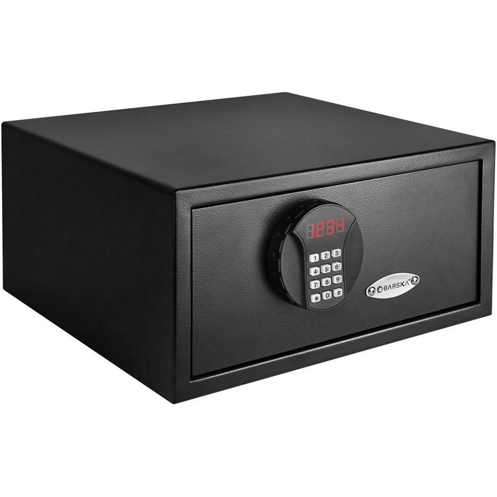 0.69 cu. ft. Digital Safe with Keypad Lock, Black Matte