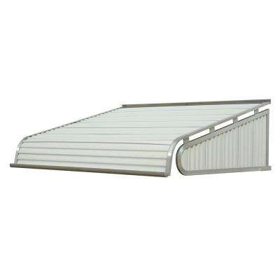 7 ft. 1500 Series Door Canopy Aluminum Awning (18 in. H x 48 in. D) in White