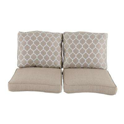 Beacon Park Replacement Outdoor Loveseat Cushions