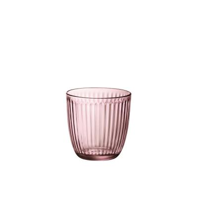 9.75 oz. Lilac Rose Line Water Tumbler (Set of 12)