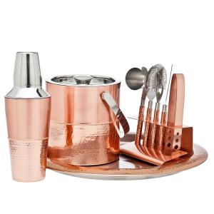 9-Piece Copper Bar Set by