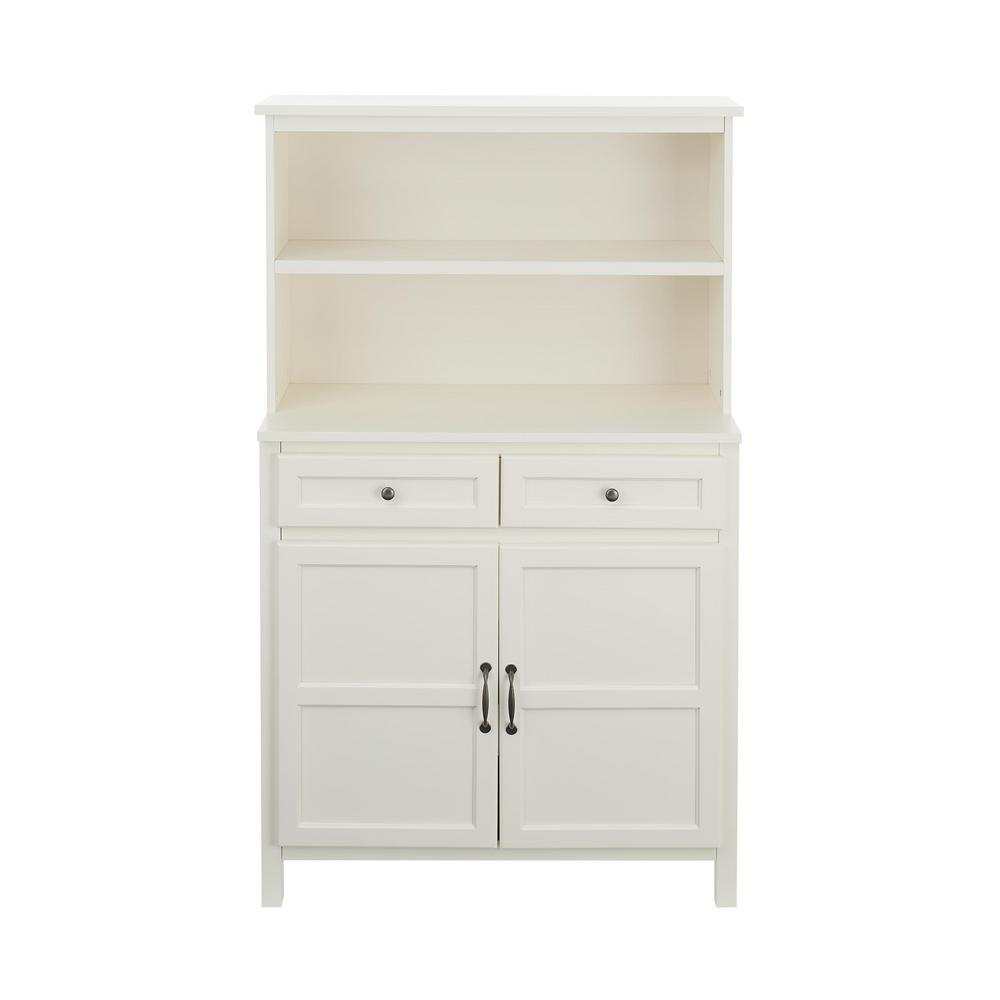 Stylewell StyleWell Ivory Wood Transitional Kitchen Pantry (36 in. W x 58 in. H)