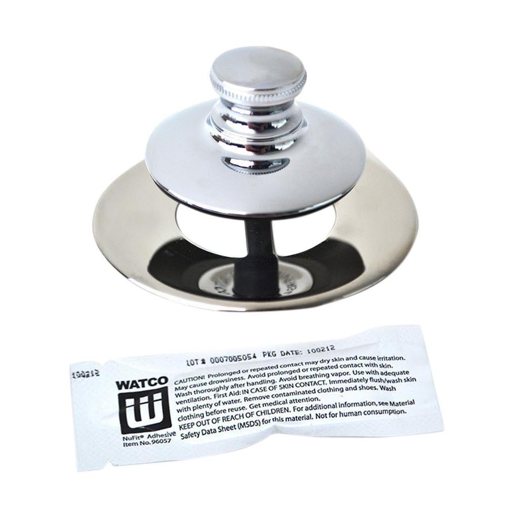 waste diy flat bath tools adjustable seal up only pop stoppers uk with amazon bathtub co chrome plug dp