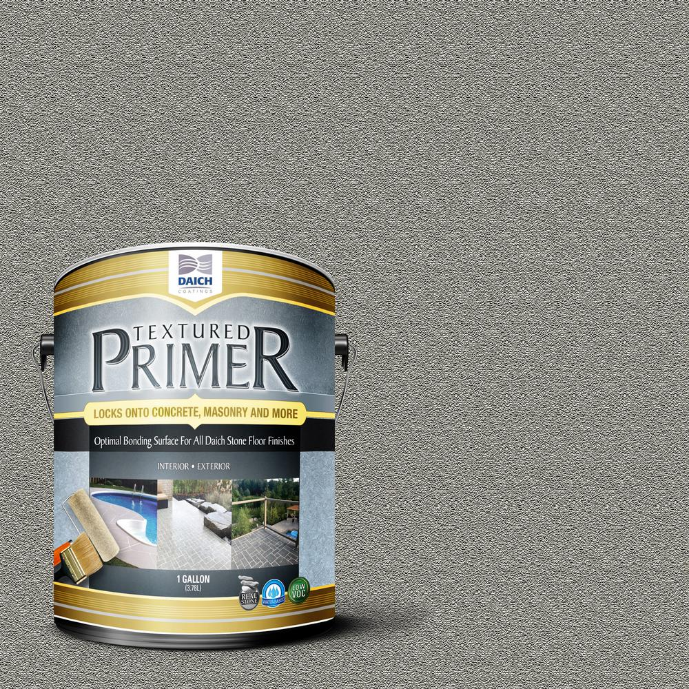 DAICH Textured 1 gal. Raw Gray Interior Exterior Bonding Primer Penetrating Anti-Slip