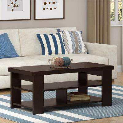 Jensen Black Forest Built-In Storage Coffee Table