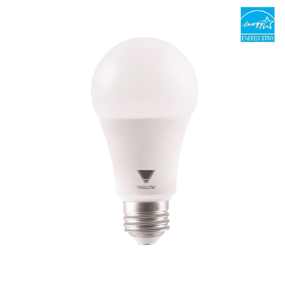 triglow 100 watt equivalent a19 dimmable 1600 lumens ul listed and energy certified led light. Black Bedroom Furniture Sets. Home Design Ideas