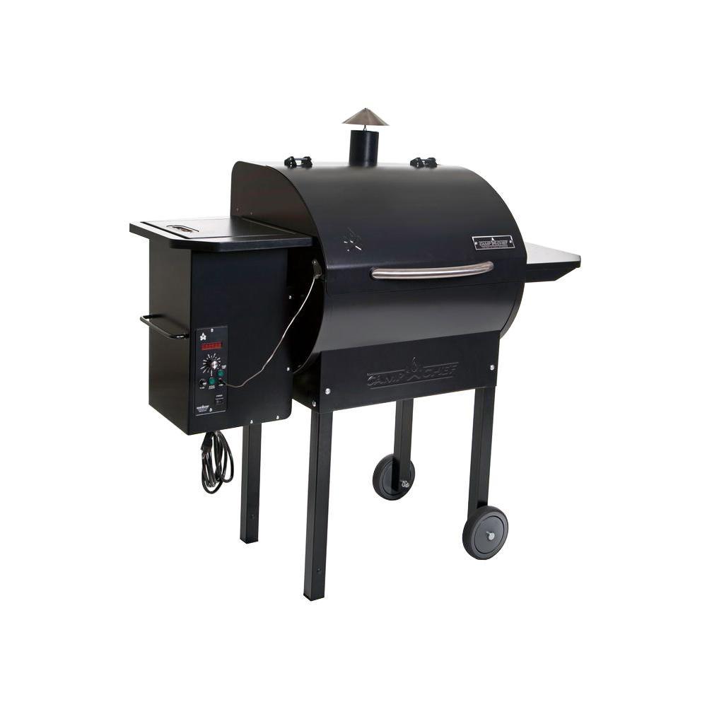 SmokePro DLX Pellet Grill in Black