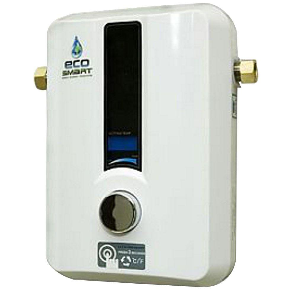 EcoSmart 8 kW Self-Modulating 1.55 GPM Electric Tankless Water Heater