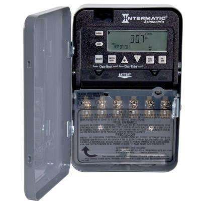 30 Amp 7-Day DPST 2-Circuit Astronomic Time Switch