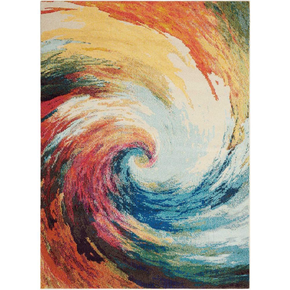 Celestial Wave 8 ft. x 11 ft. Area Rug