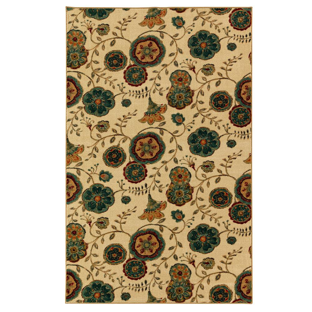 MOHAWK Suzani Vines Multi 7 ft. 6 in. x 10 ft. Area Rug