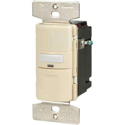 Motion-Activated Vacancy Sensor Wall Switch, Almond