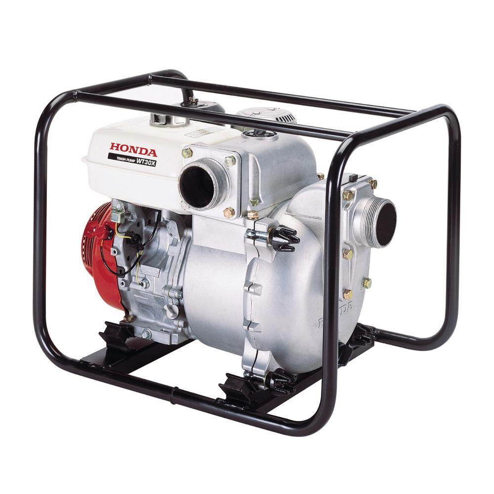 9 HP 3 in. Gasoline Powered Trash Water Pump