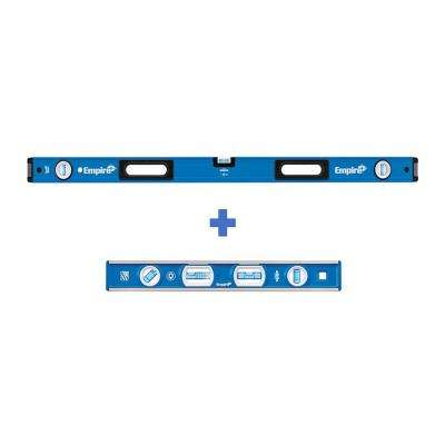 48 in. Box Level with 12 in. Magnetic Level