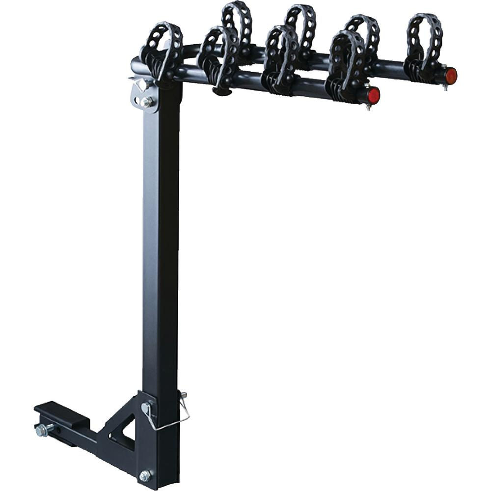 "Platform Folding Hitch Mount Bike Rack 4 Bikes Fits 2/"" Receivers"