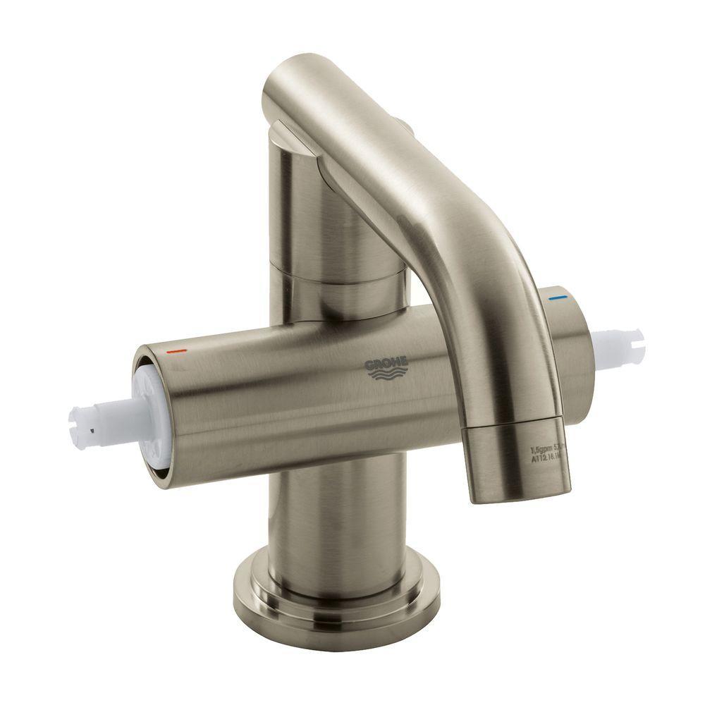Grohe Atrio Single Hole 2 Handle Bathroom Faucet In