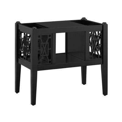 Layla Magazine Table Black