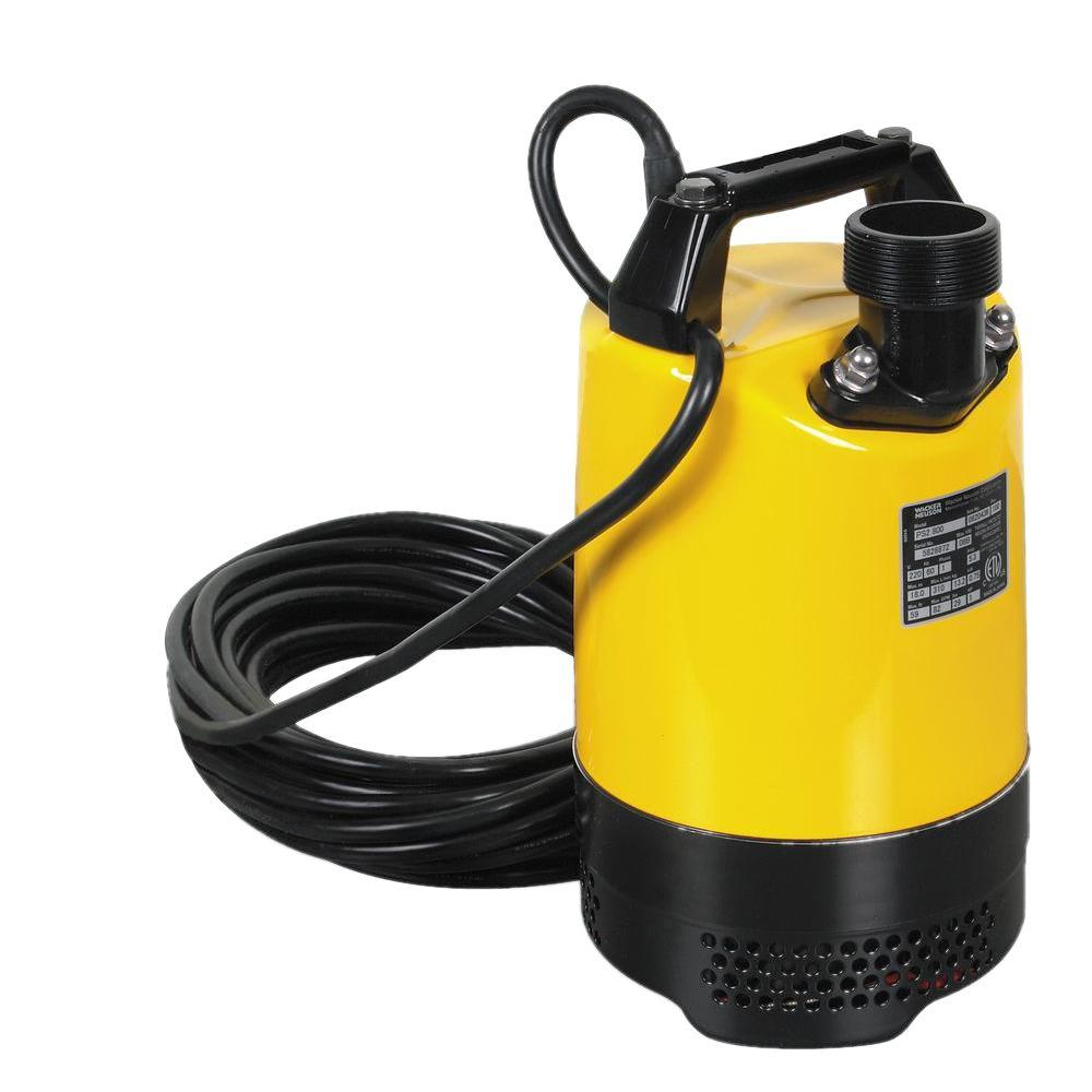 Wacker 1.0 HP 2 in. Electric Submersible Utility Pump