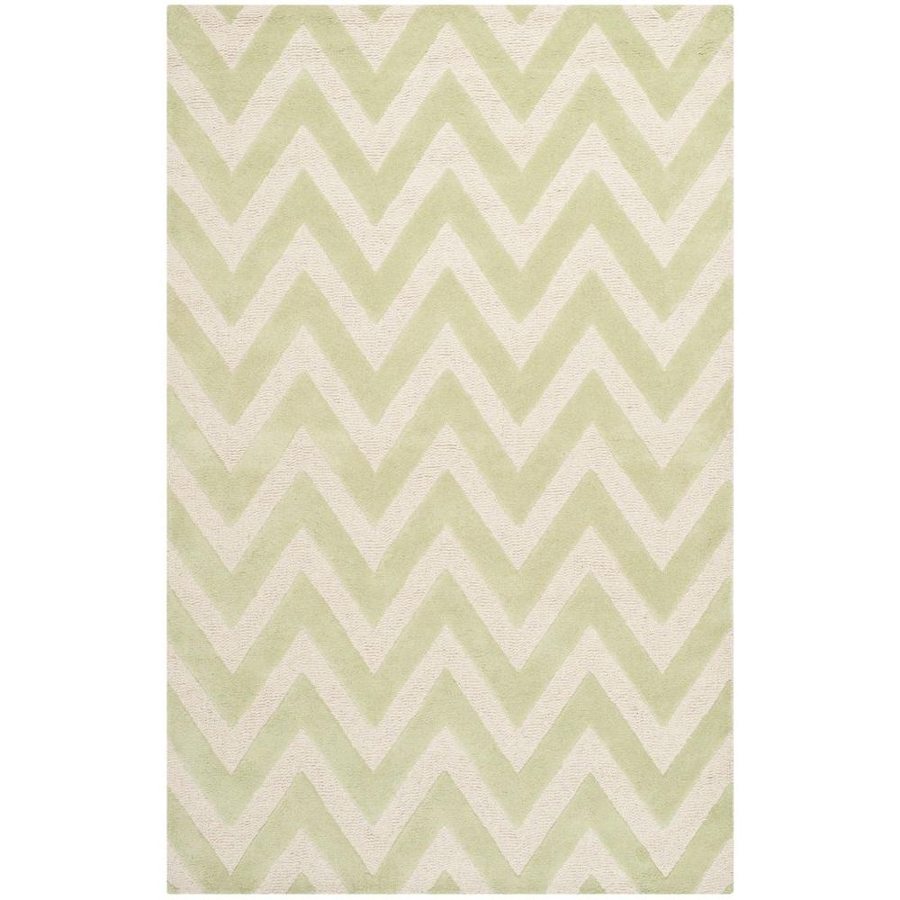 Safavieh Cambridge Light Green/Ivory 8 ft. x 10 ft. Area Rug