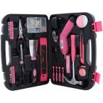 135-Piece Home Tool Kit in Pink
