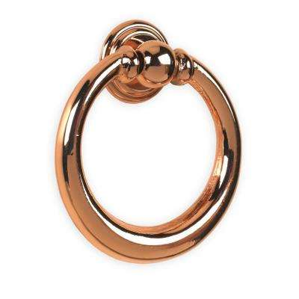Nuevo Classic 1.60 in. Bright Copper Ring Pull OL