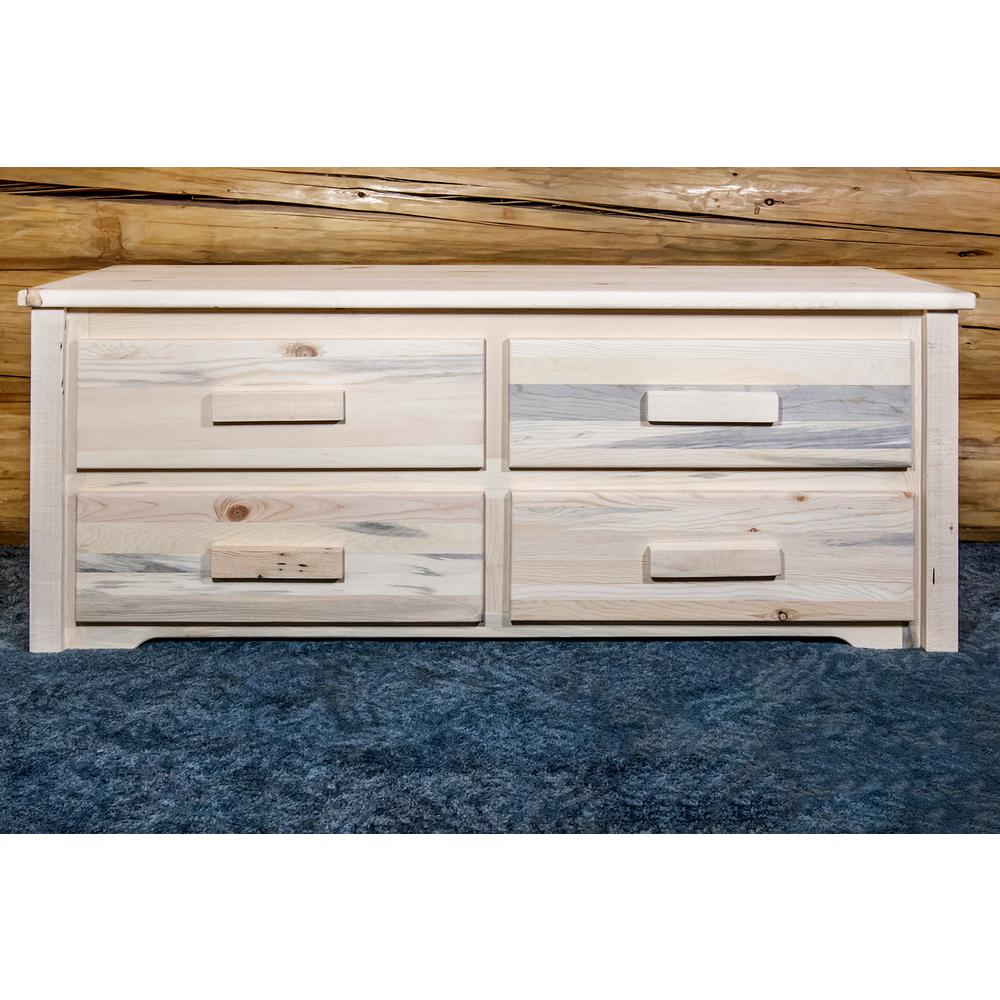 Homestead Clear Lacquer Chest