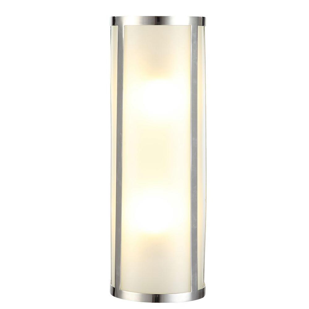 Sierra 2-Light Polished Nickel Sconce
