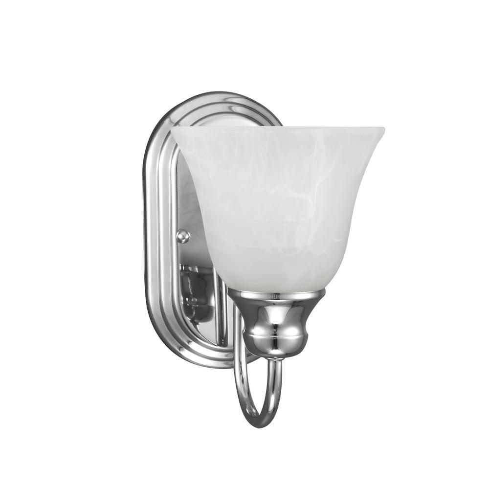 Windgate 1 Light Chrome Sconce