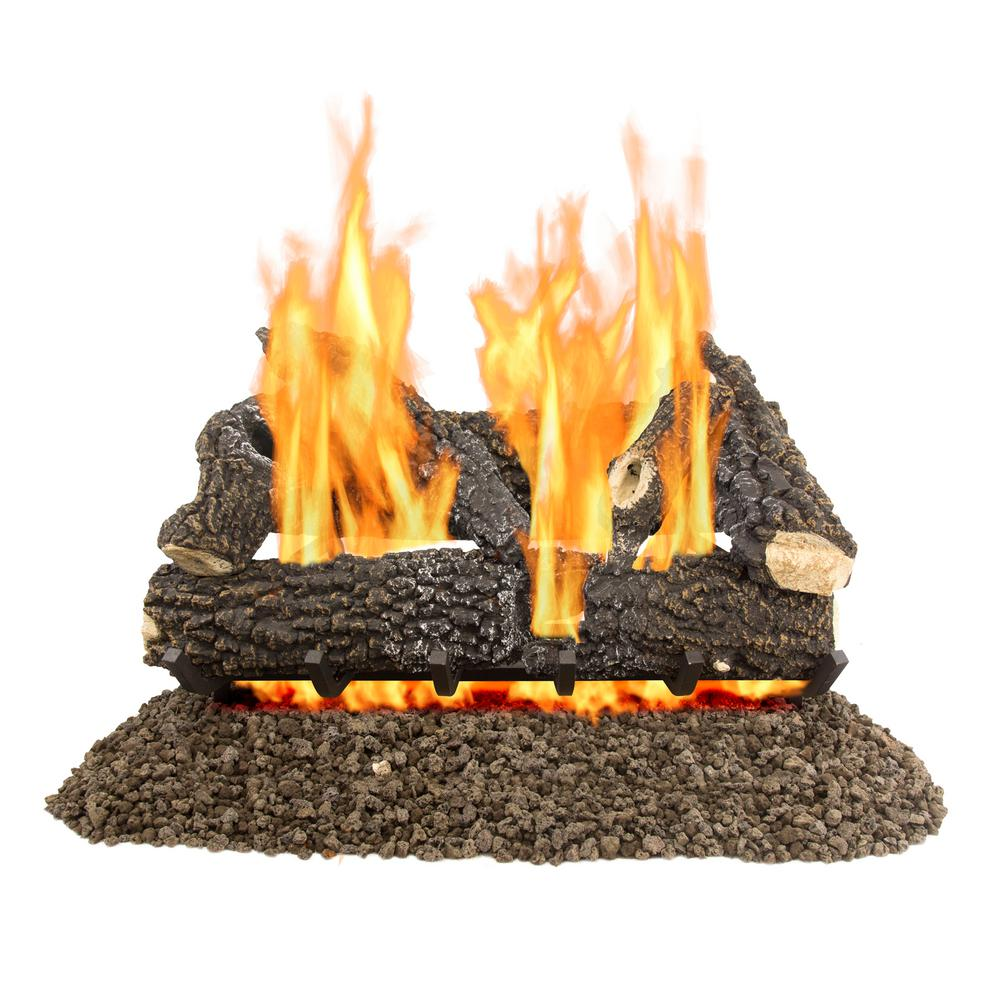Arlington Ash 30 in. Vented Gas Log Set