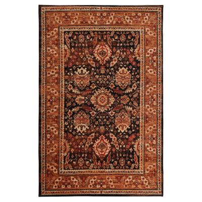 Marshall BROWN 5 ft. x 8 ft. Indoor Area Rug