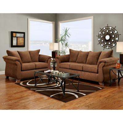 Traditions Chocolate Loveseat