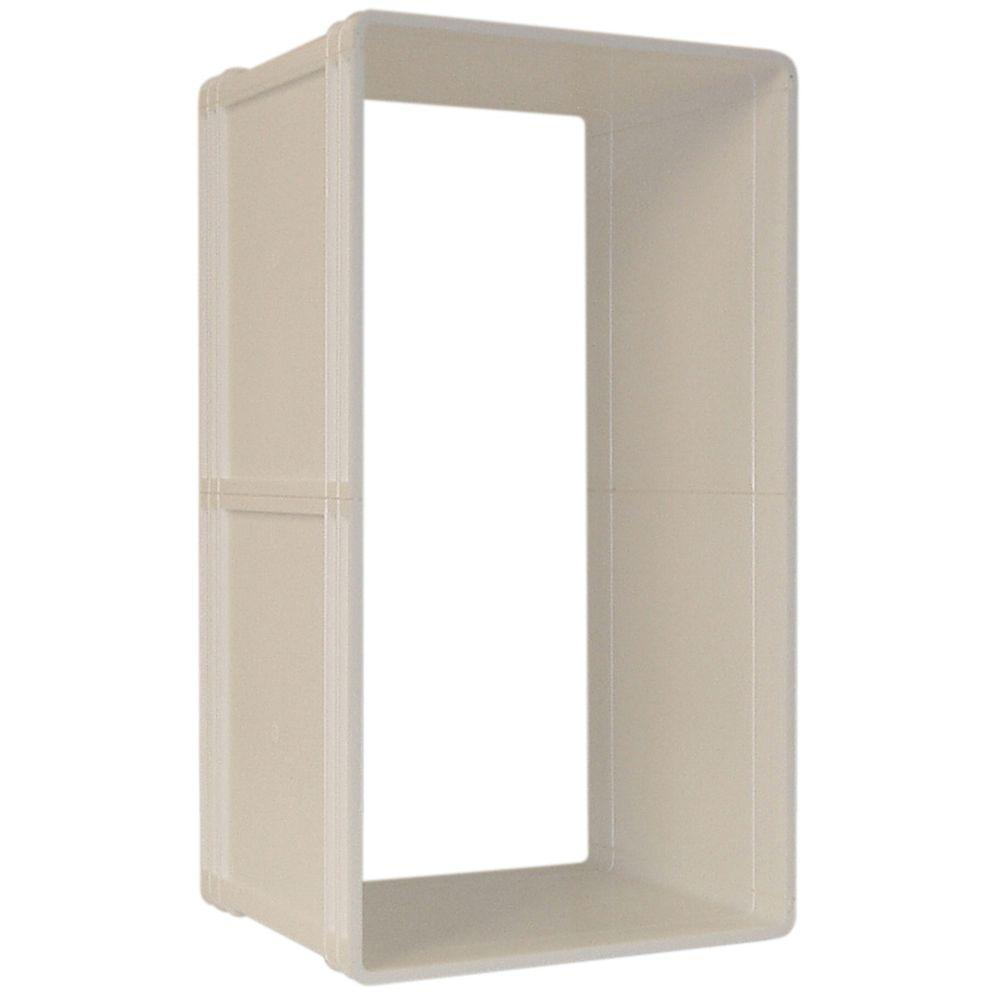 Ideal Pet 5 in. x 9.25 in. Small Ruff Weather Wall Kit for in-Wall Installation of Small Ruff Weather Door