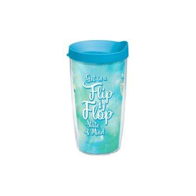 Flip Flop State of Mind 16 oz. Tumbler