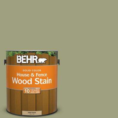 1 gal. #BIC-57 French Parsley Solid Color House and Fence Exterior Wood Stain